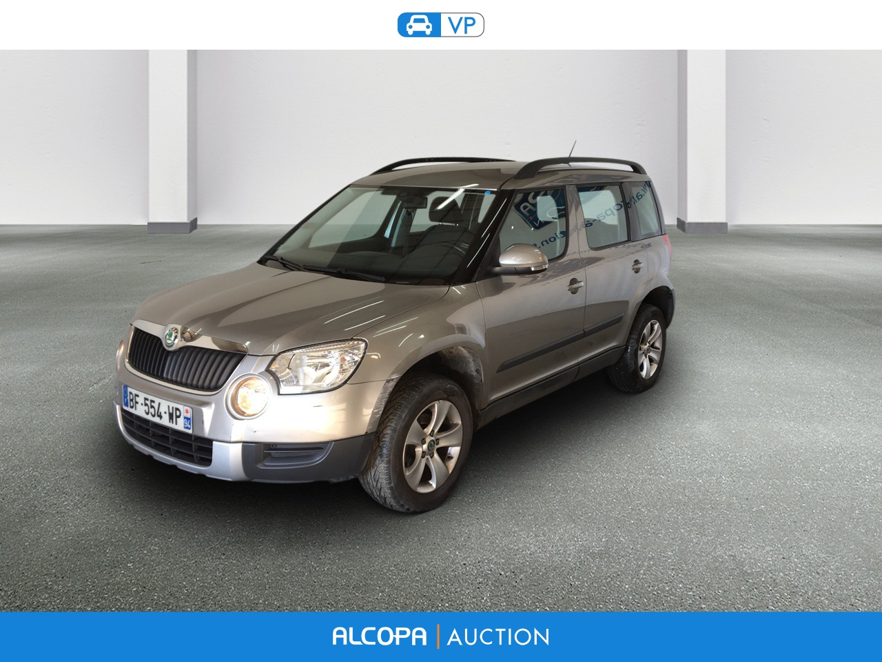 skoda yeti 06 2009 10 2013 yeti 1 2 tsi 105 ambition dsg alcopa auction. Black Bedroom Furniture Sets. Home Design Ideas