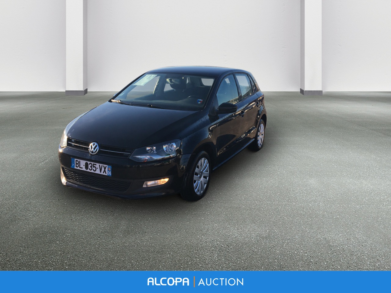 volkswagen polo polo 1 6 tdi 90 cr fap confortline lyon alcopa auction. Black Bedroom Furniture Sets. Home Design Ideas