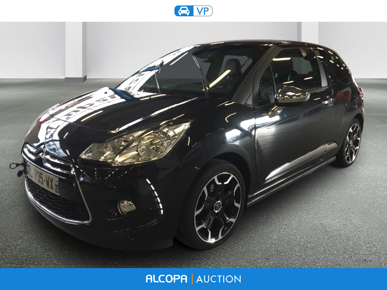 citroen ds3 ds3 thp 155 sport chic alcopa auction. Black Bedroom Furniture Sets. Home Design Ideas