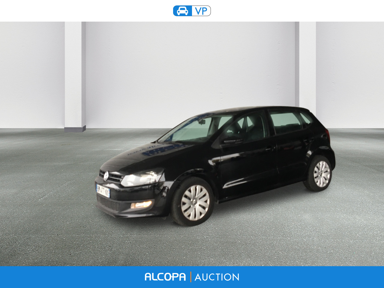 volkswagen polo 1 6 tdi 90 cr fap confortline alcopa auction. Black Bedroom Furniture Sets. Home Design Ideas