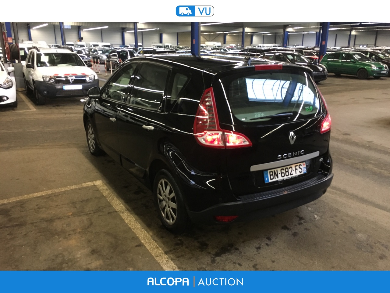 renault scenic scenic 1 5dci 110 edc beauvais alcopa auction. Black Bedroom Furniture Sets. Home Design Ideas