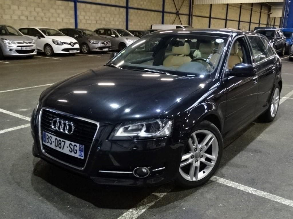 audi a3 sportback a3 sportback 2 0 tdi 140 dpf ambition luxe s tronic alcopa auction. Black Bedroom Furniture Sets. Home Design Ideas