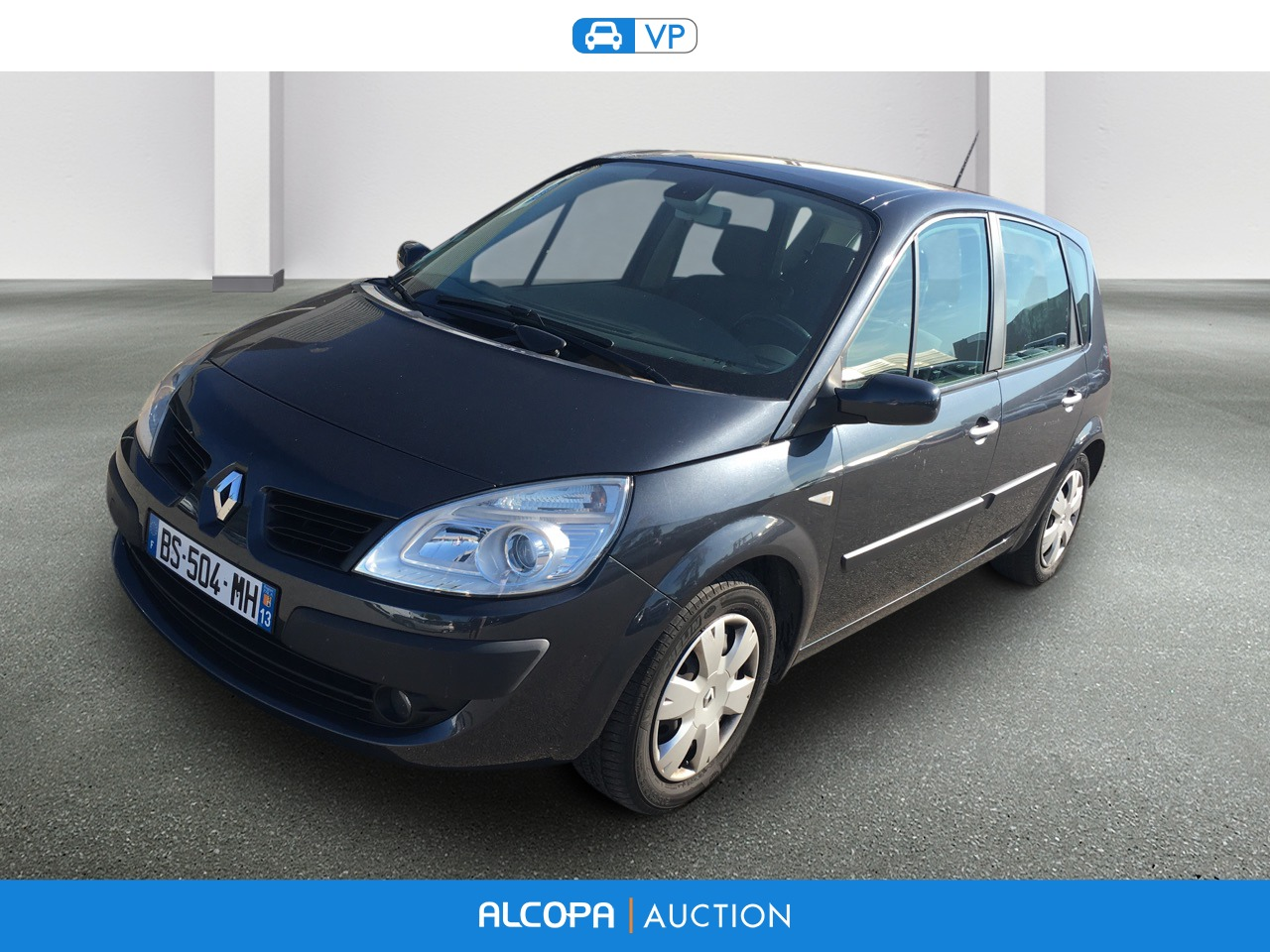 renault scenic ii scenic 1 9 dci 130 expression alcopa auction. Black Bedroom Furniture Sets. Home Design Ideas