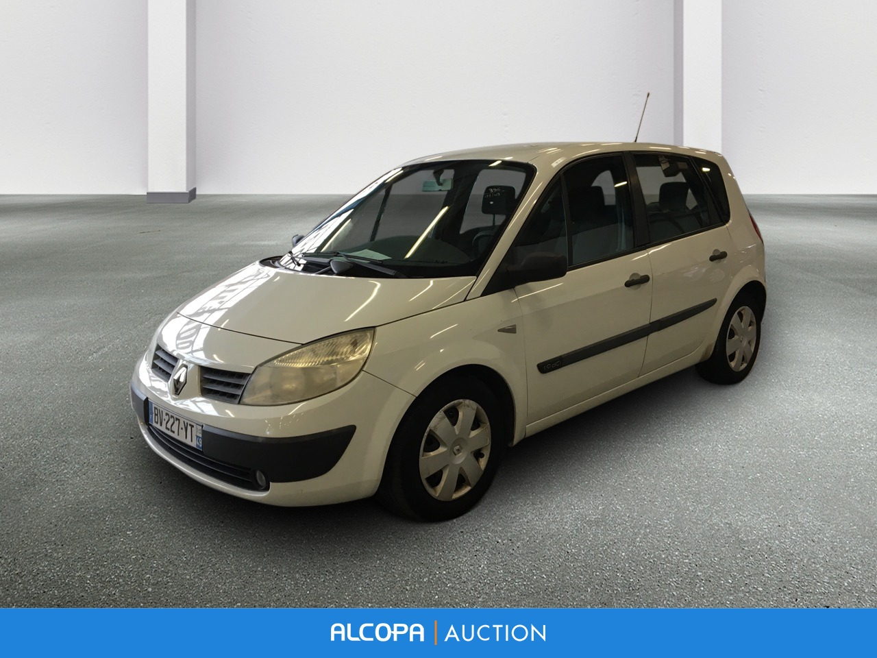 renault scenic ii scenic 1 9 dci 120 pack expression alcopa auction. Black Bedroom Furniture Sets. Home Design Ideas