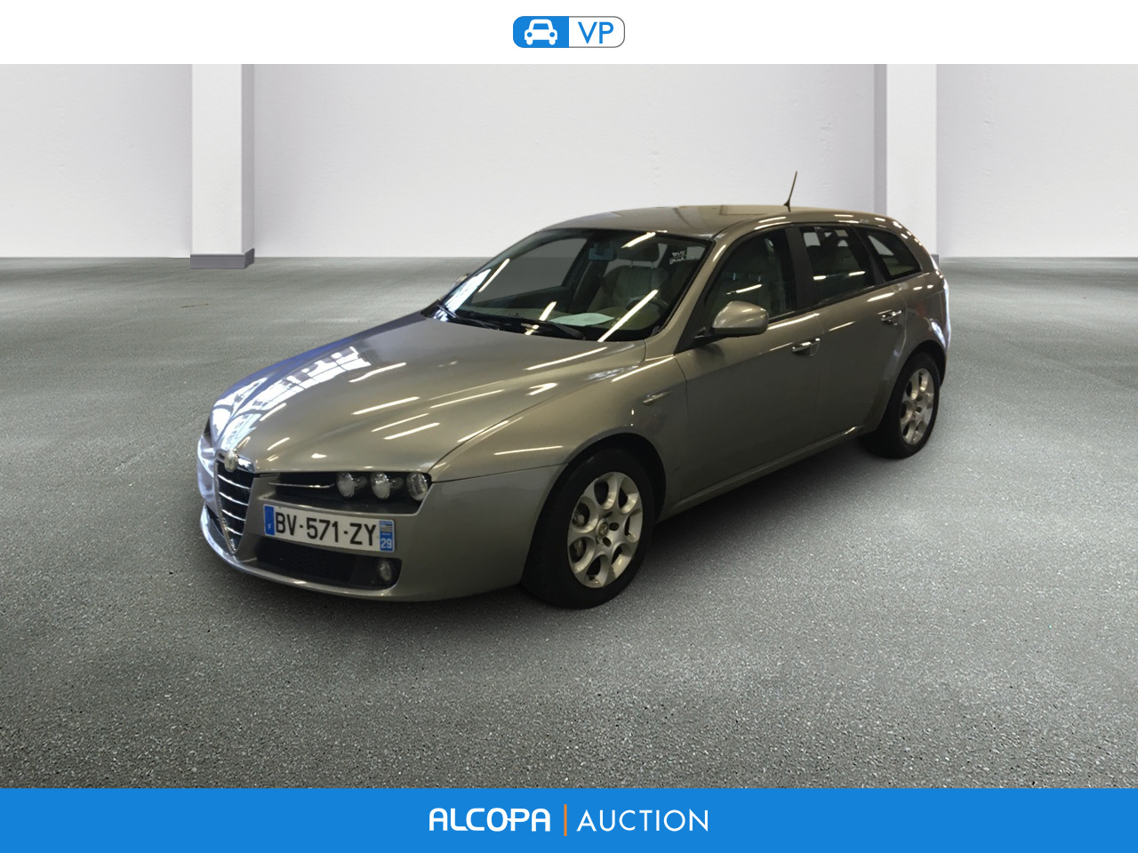 alfa romeo 159 sportwagon 02 2006 05 2013 159 sw 2 0 jtdm 170 distinctive alcopa auction. Black Bedroom Furniture Sets. Home Design Ideas
