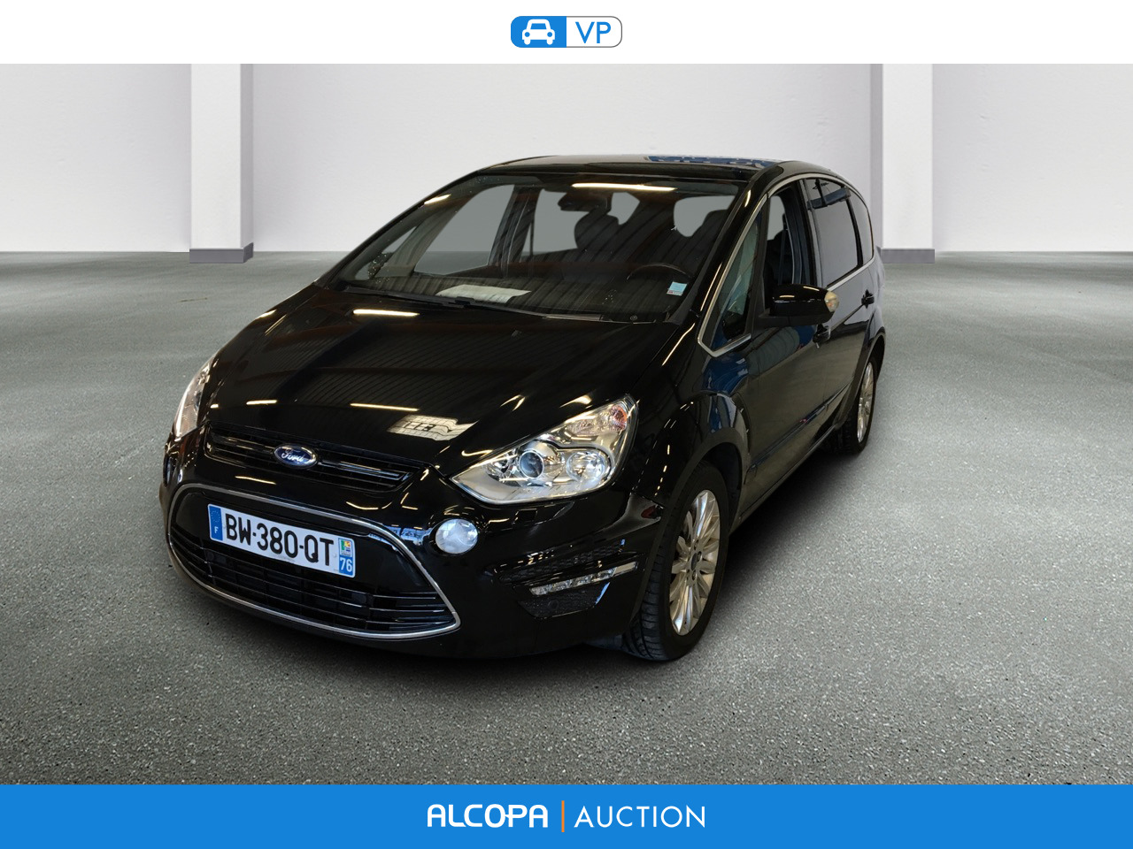 ford s max s max 2 0 tdci 140ch titanium 7 places alcopa auction. Black Bedroom Furniture Sets. Home Design Ideas