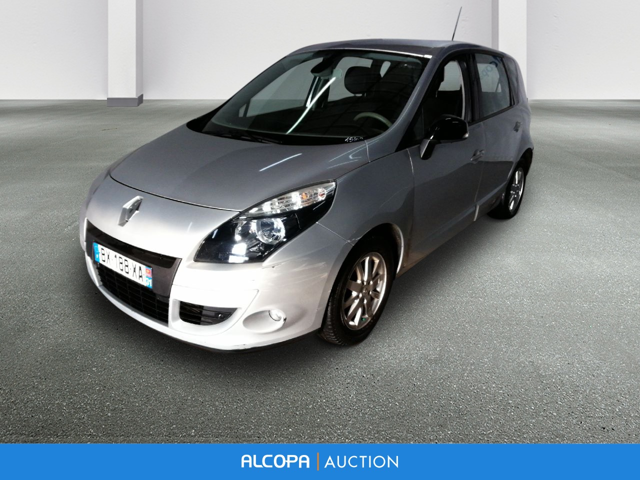 renault scenic iii scenic iii dci 130 fap energy eco2 exception tours alcopa auction. Black Bedroom Furniture Sets. Home Design Ideas