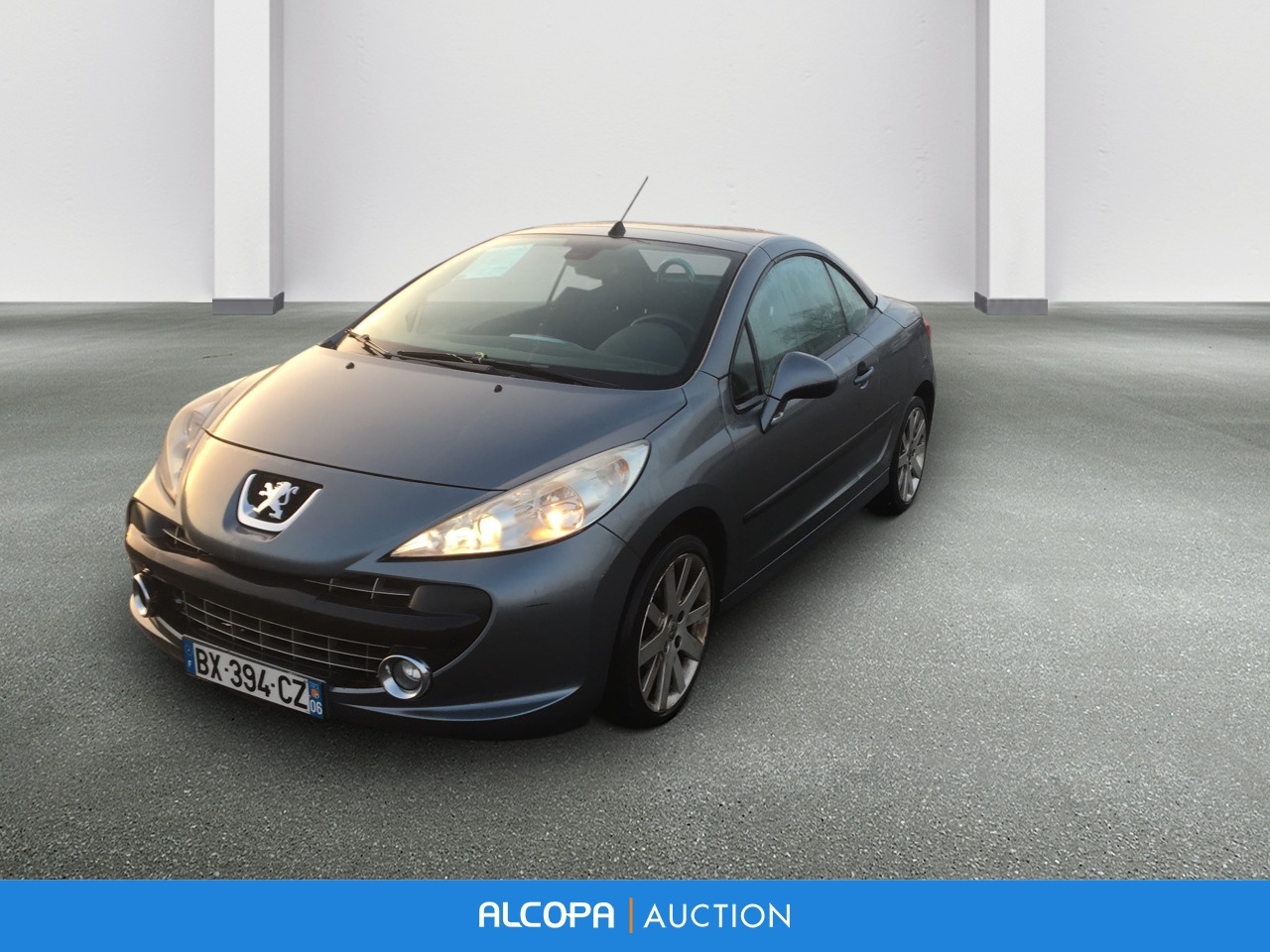 peugeot 207 cc 207 cc 1 6 vti 16v 120ch sport pack alcopa auction. Black Bedroom Furniture Sets. Home Design Ideas