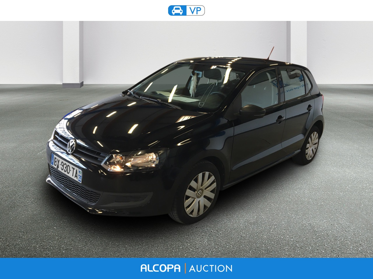 volkswagen polo 06 2009 04 2014 polo 1 6 tdi 90 cr fap trendline alcopa auction. Black Bedroom Furniture Sets. Home Design Ideas