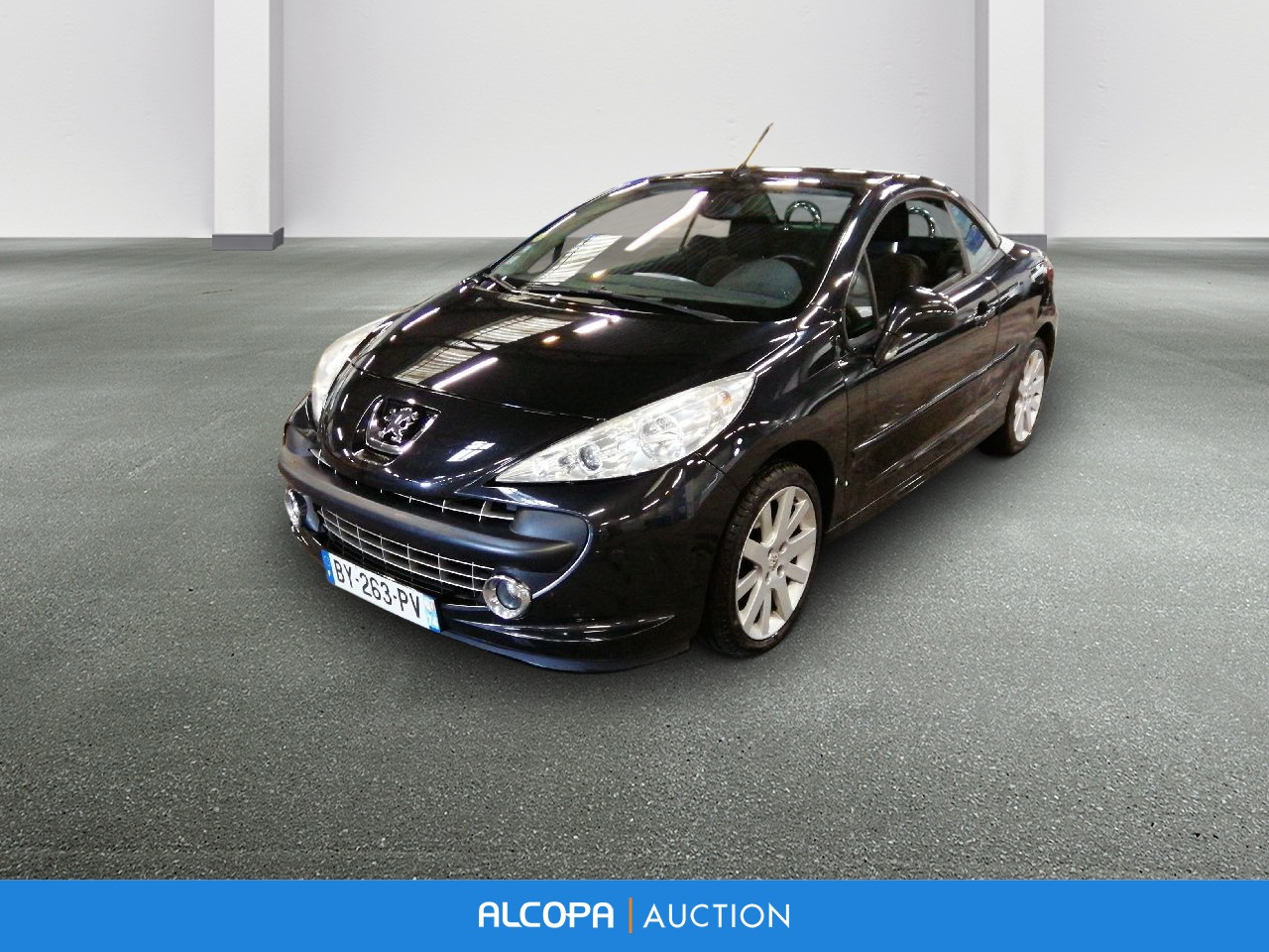 peugeot 207 cc 207 cc 1 6 vti 16v 120ch sport pack nancy alcopa auction. Black Bedroom Furniture Sets. Home Design Ideas