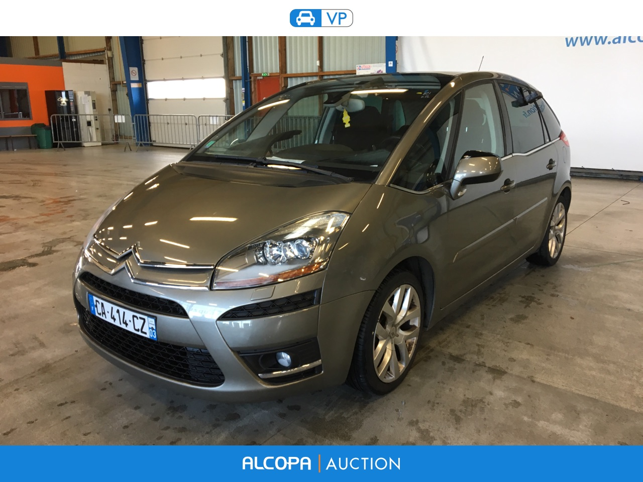 citroen c4 c4 picasso 2 0 hdi138 fap exclusive bmp6 rennes alcopa auction. Black Bedroom Furniture Sets. Home Design Ideas