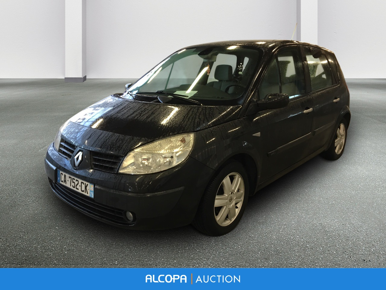 renault scenic ii scenic 1 5 dci 105 authentique alcopa auction. Black Bedroom Furniture Sets. Home Design Ideas