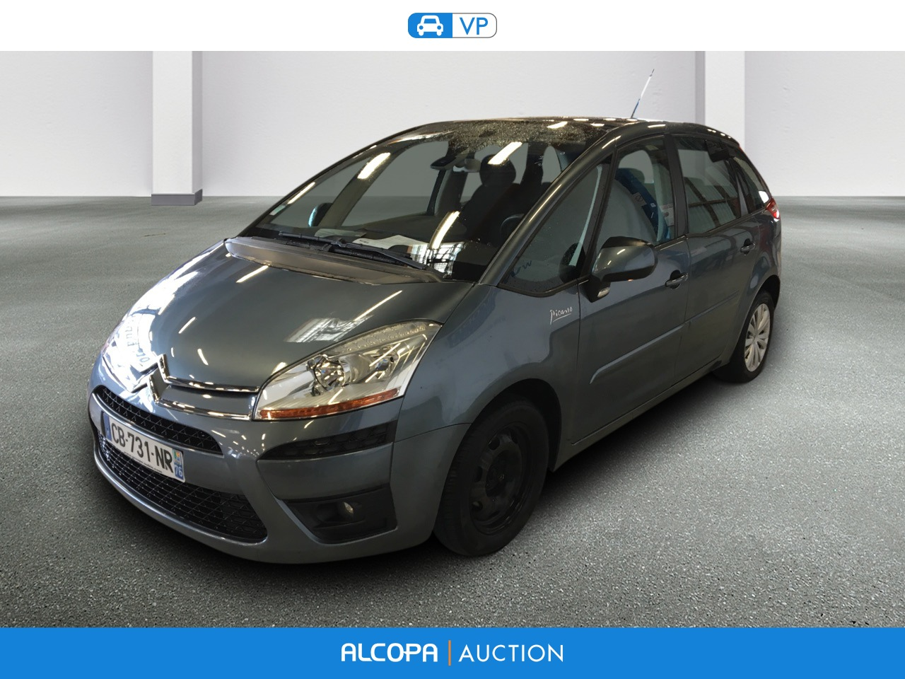 citroen c4 picasso 01 2007 07 2013 c4 picasso hdi 110 fap pack ambiance alcopa auction. Black Bedroom Furniture Sets. Home Design Ideas
