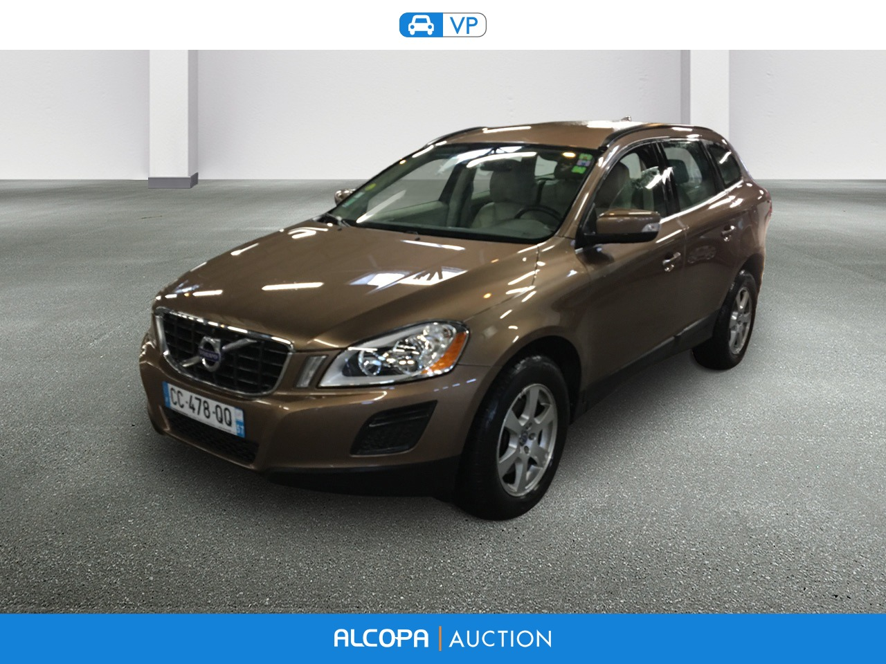 volvo xc60 03 2008 10 2013 xc60 d3 awd momentum alcopa auction. Black Bedroom Furniture Sets. Home Design Ideas