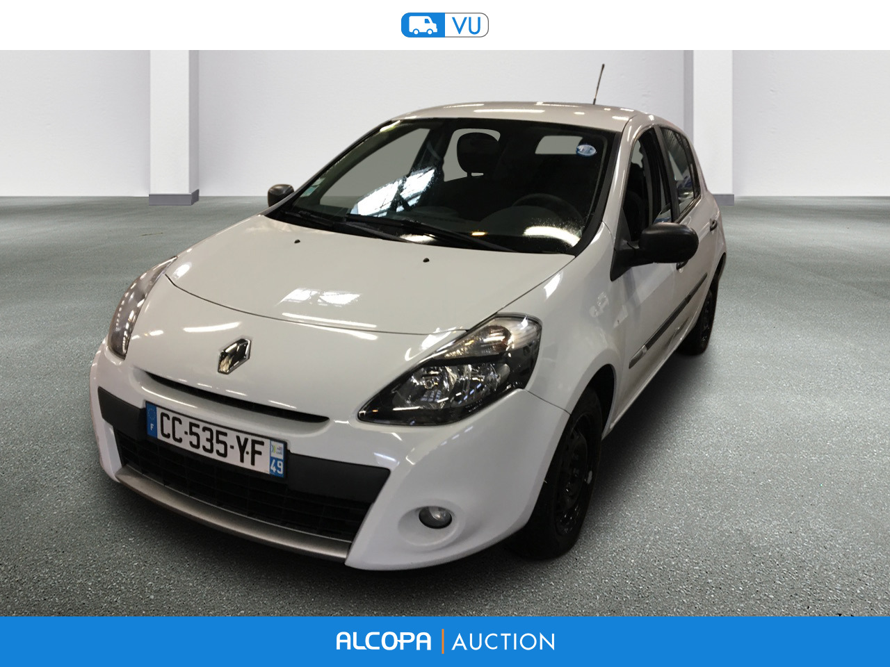 renault clio iii 03 2009 12 2014 clio iii dci 75 eco2 expression clim euro 5 alcopa auction. Black Bedroom Furniture Sets. Home Design Ideas