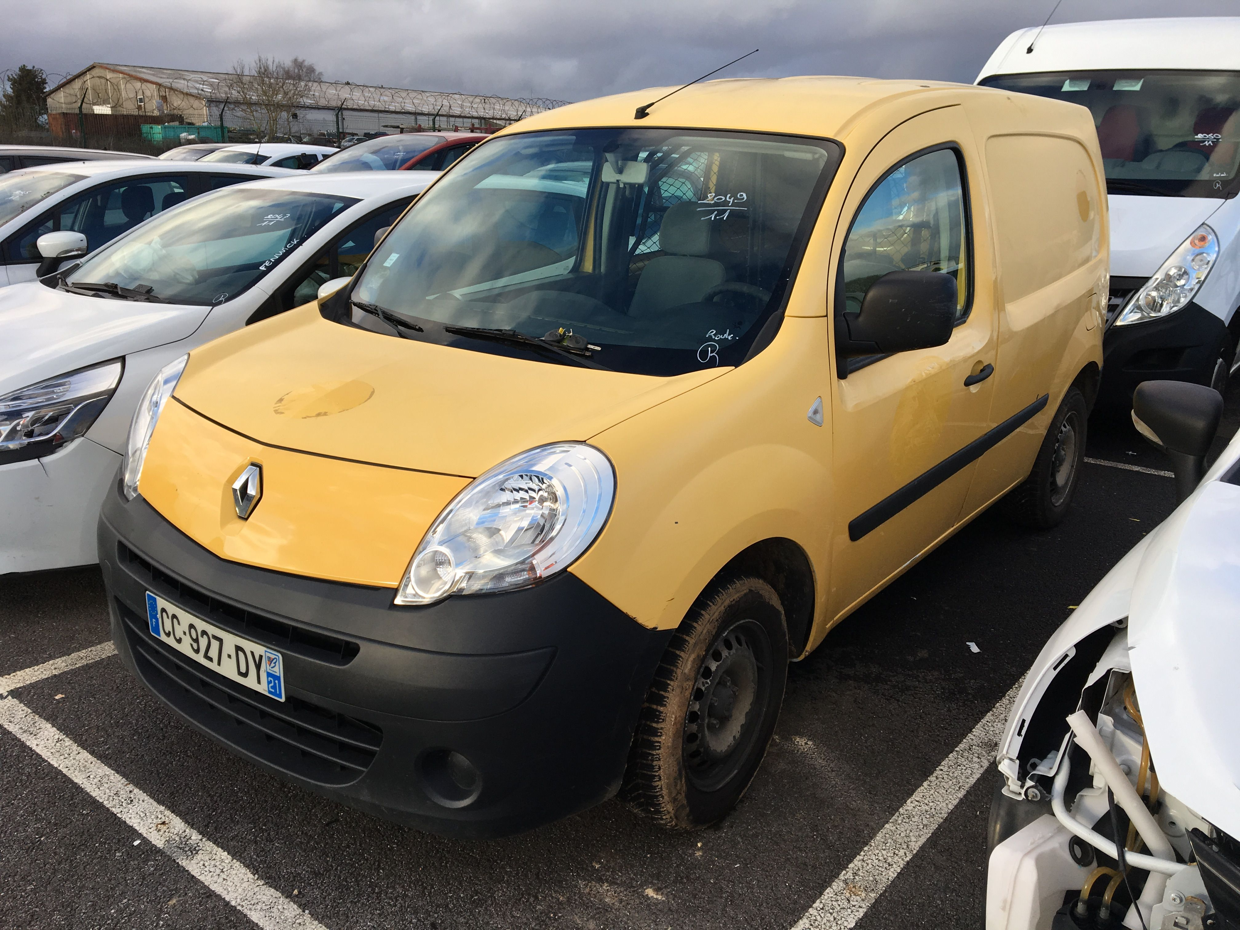 renault kangoo express kangoo express l1 1 5 dci 75 eco2 confort beauvais alcopa auction. Black Bedroom Furniture Sets. Home Design Ideas