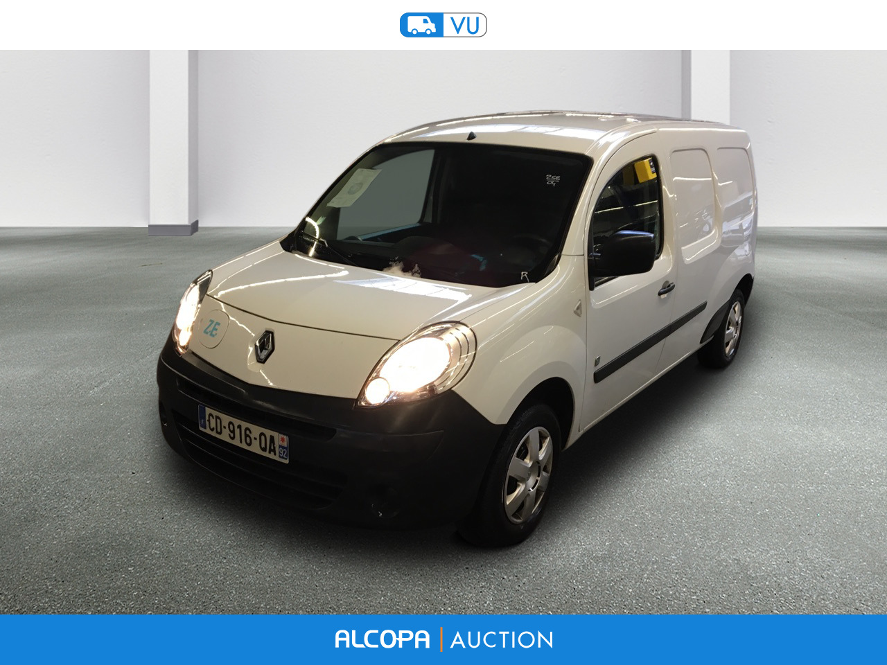 renault kangoo kangoo express ze maxi l2 2pl ba beauvais alcopa auction. Black Bedroom Furniture Sets. Home Design Ideas