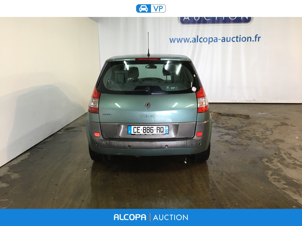 renault scenic scenic 1 5 dci105 luxe privilege tours alcopa auction. Black Bedroom Furniture Sets. Home Design Ideas