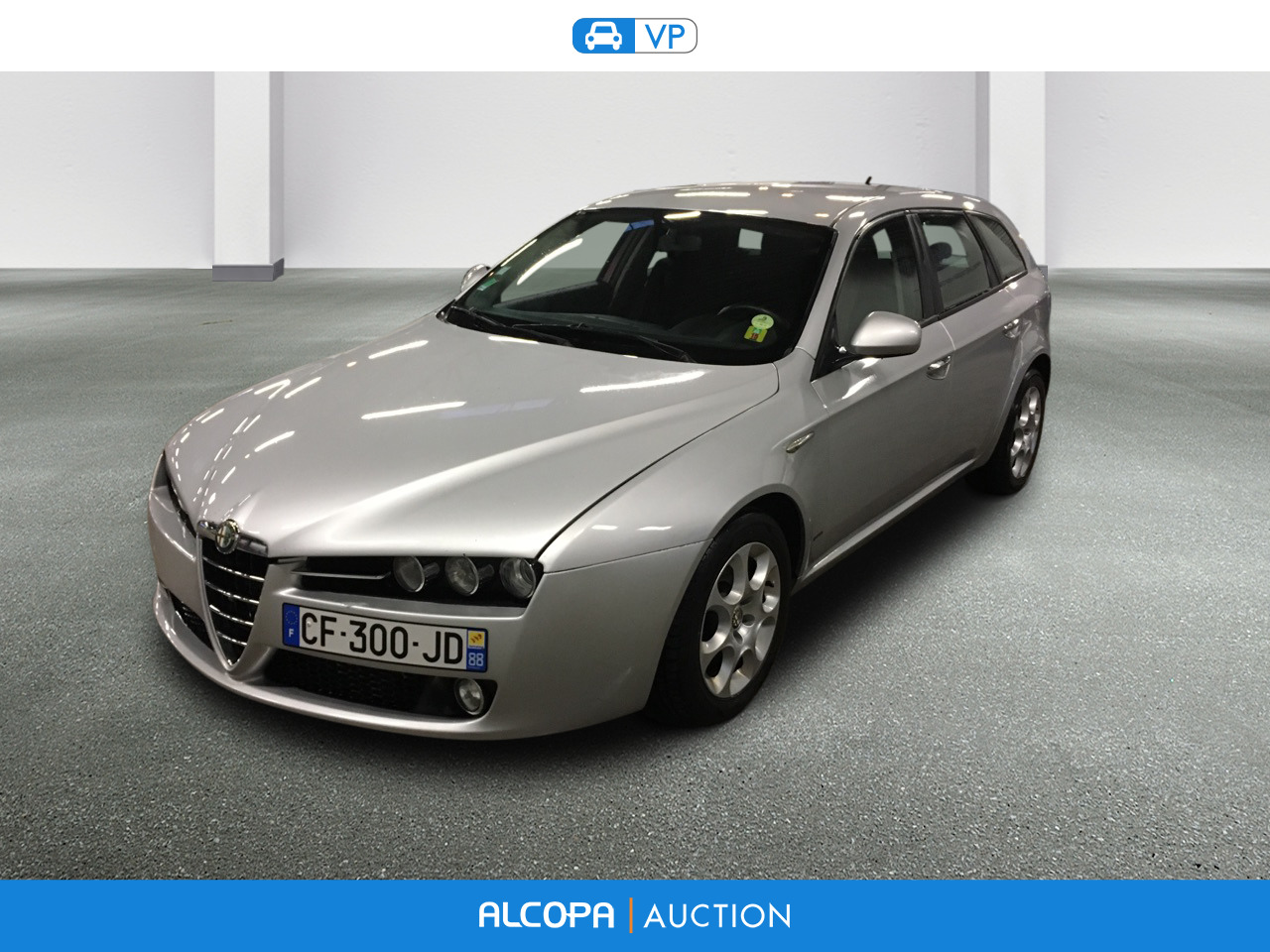 alfa romeo 159 sportwagon 02 2006 05 2013 159 sw 1 9 jtdm 16v distinctive alcopa auction. Black Bedroom Furniture Sets. Home Design Ideas