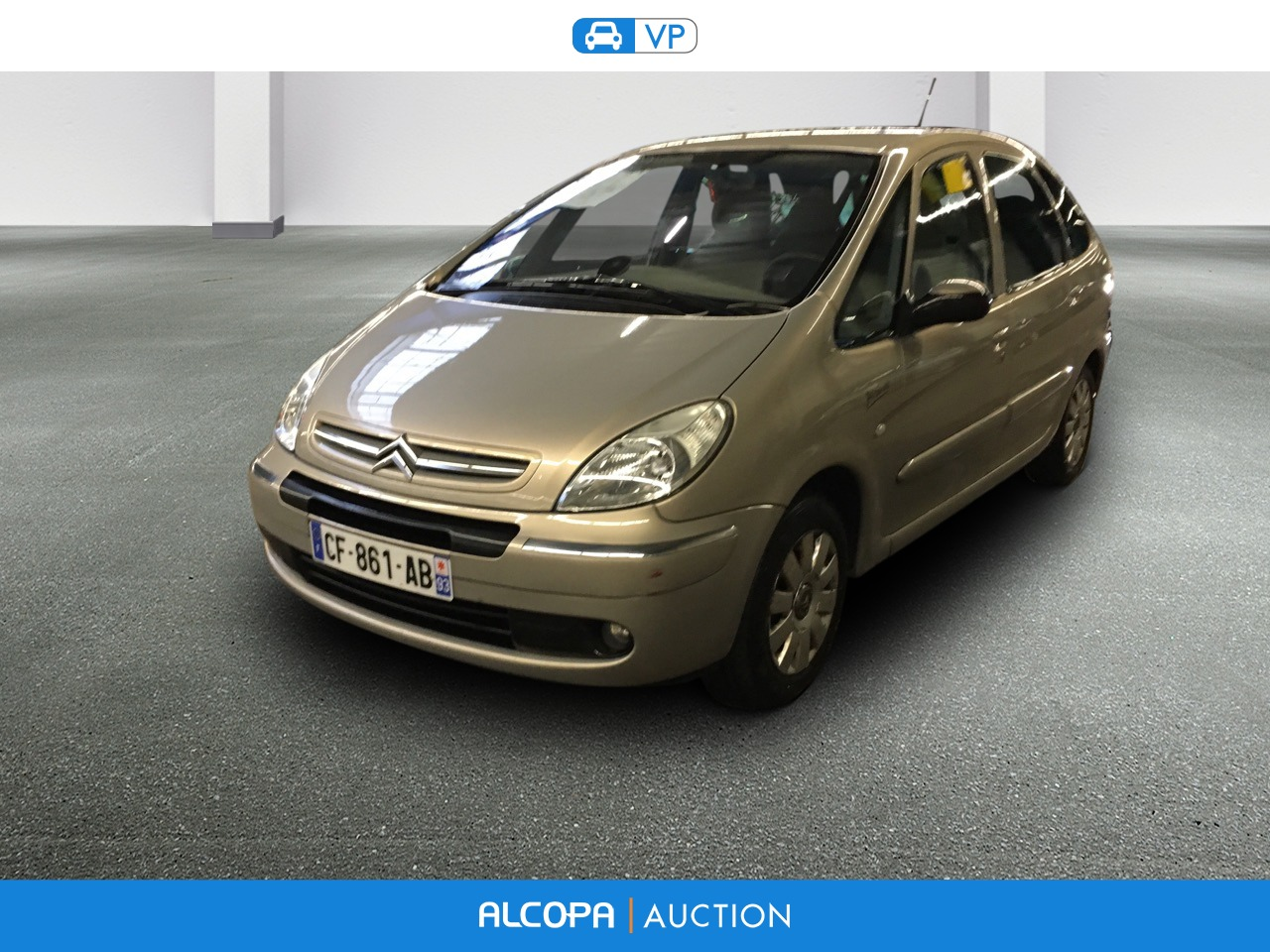 citroen xsara picasso xsara picasso 1 6 hdi 110 exclusive alcopa auction. Black Bedroom Furniture Sets. Home Design Ideas