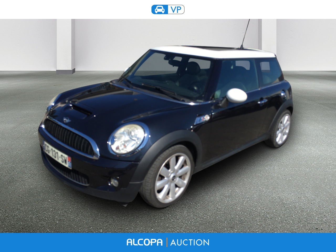 mini mini r56 mini 1 6i 175 cooper s alcopa auction. Black Bedroom Furniture Sets. Home Design Ideas
