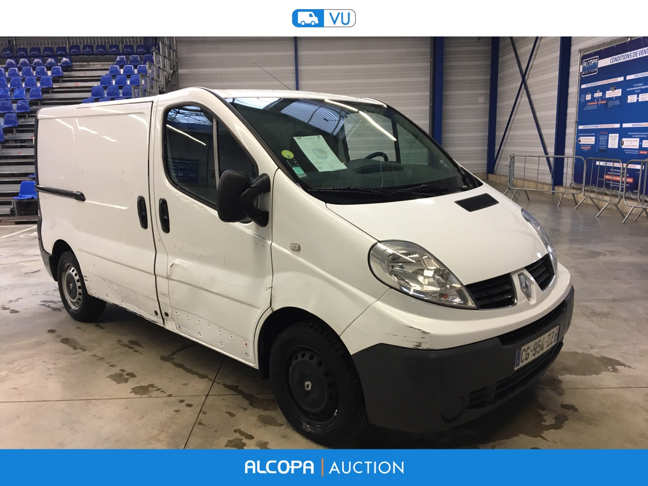 renault trafic trafic fg l1h1 1000kg dci 90 confort beauvais alcopa auction. Black Bedroom Furniture Sets. Home Design Ideas