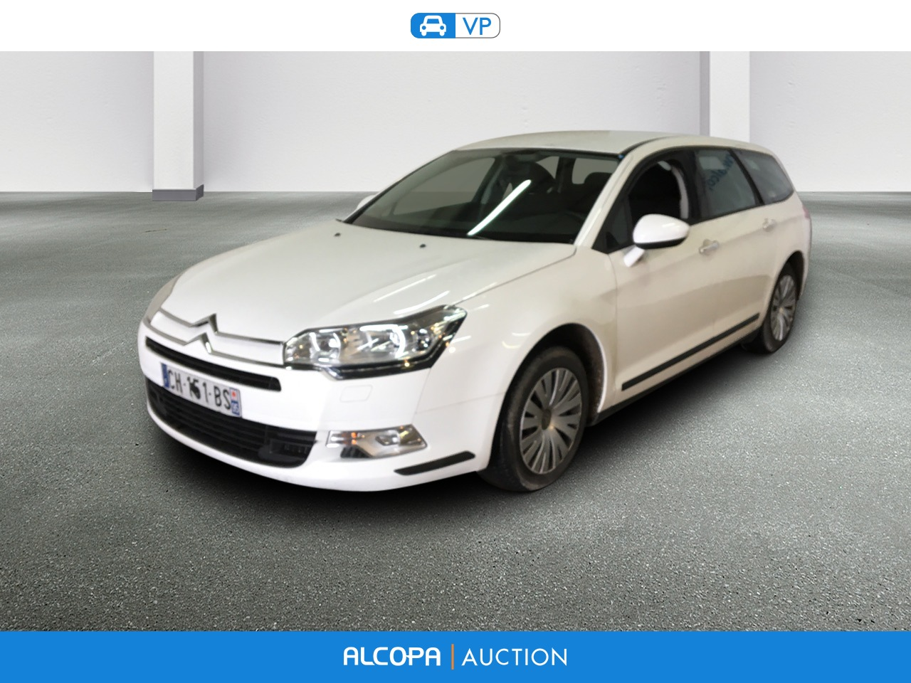 citroen c5 tourer 03 2008 07 2017 c5 tourer hdi 110 fap attraction alcopa auction. Black Bedroom Furniture Sets. Home Design Ideas