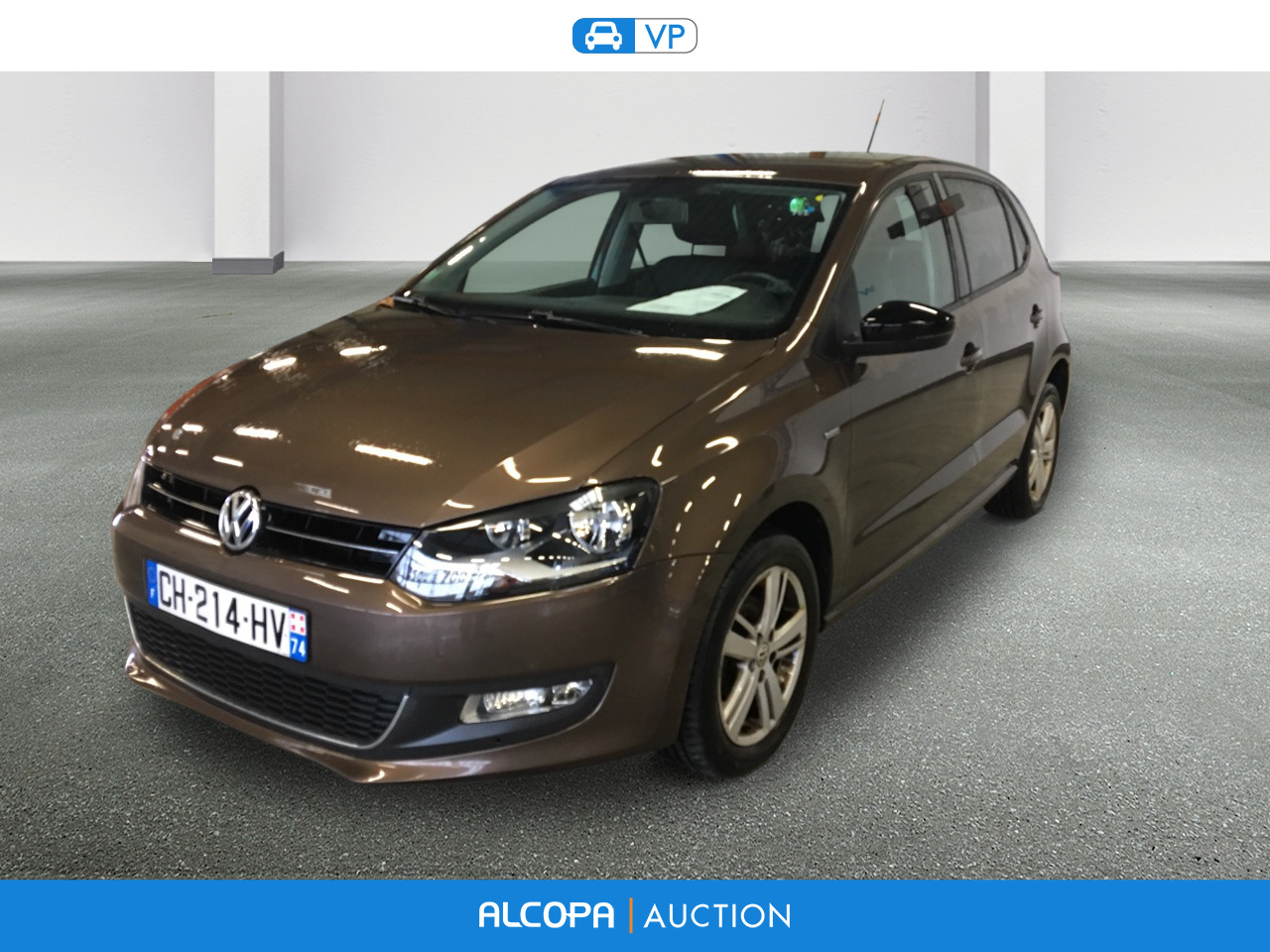 volkswagen polo polo 1 6 tdi 90ch fap match 5p rennes alcopa auction. Black Bedroom Furniture Sets. Home Design Ideas