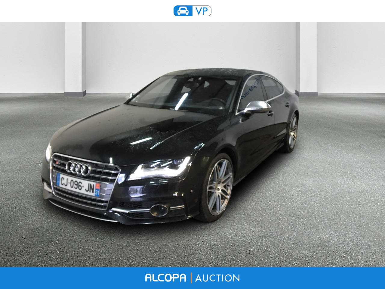 audi s7 s7 sportback 4 0 v8 tfsi 420ch quattro s tronic 7 tours alcopa auction. Black Bedroom Furniture Sets. Home Design Ideas