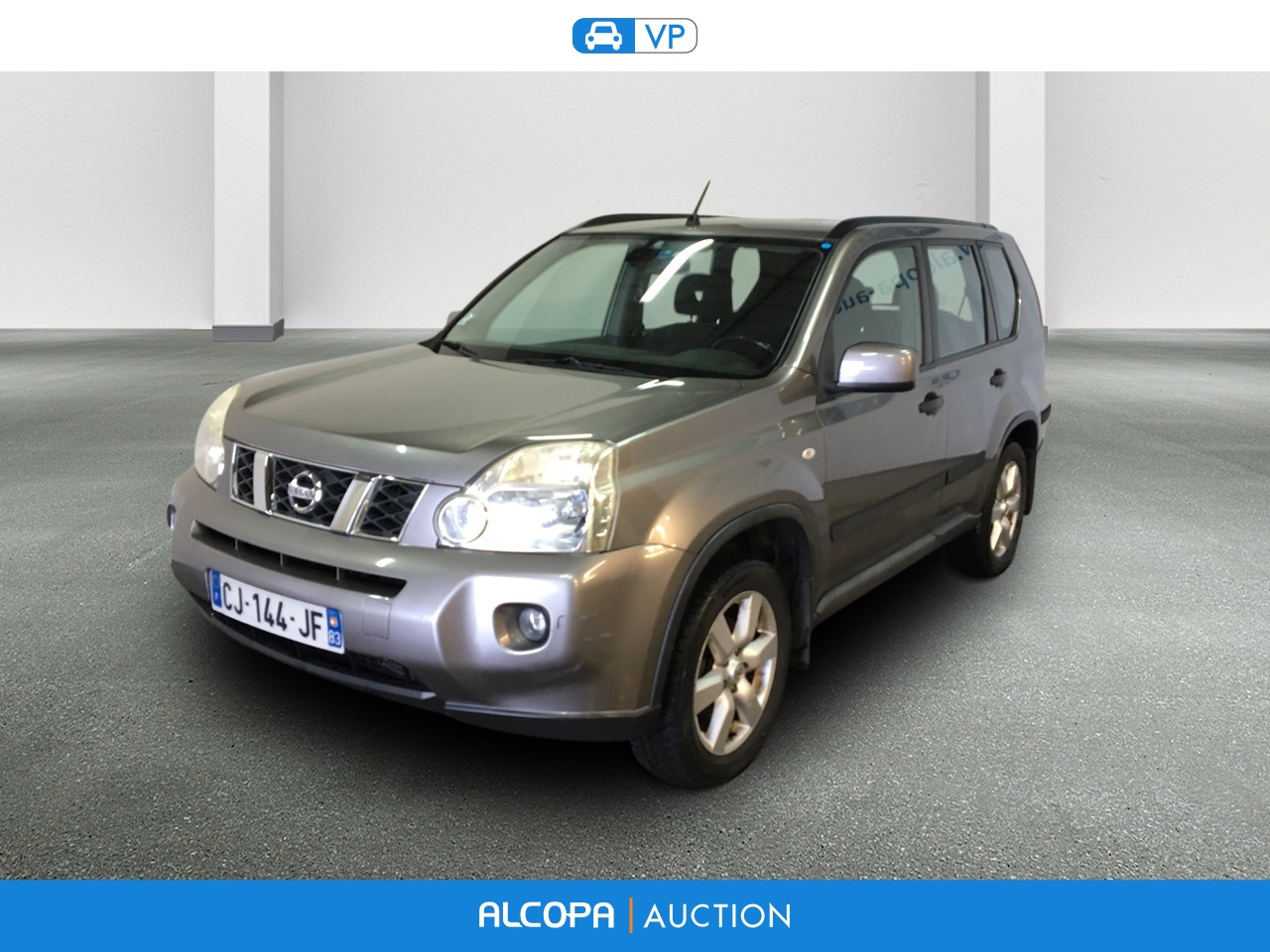 nissan x trail 07 2007 10 2010 x trail 2 0 dci 173 4x4 se alcopa auction. Black Bedroom Furniture Sets. Home Design Ideas