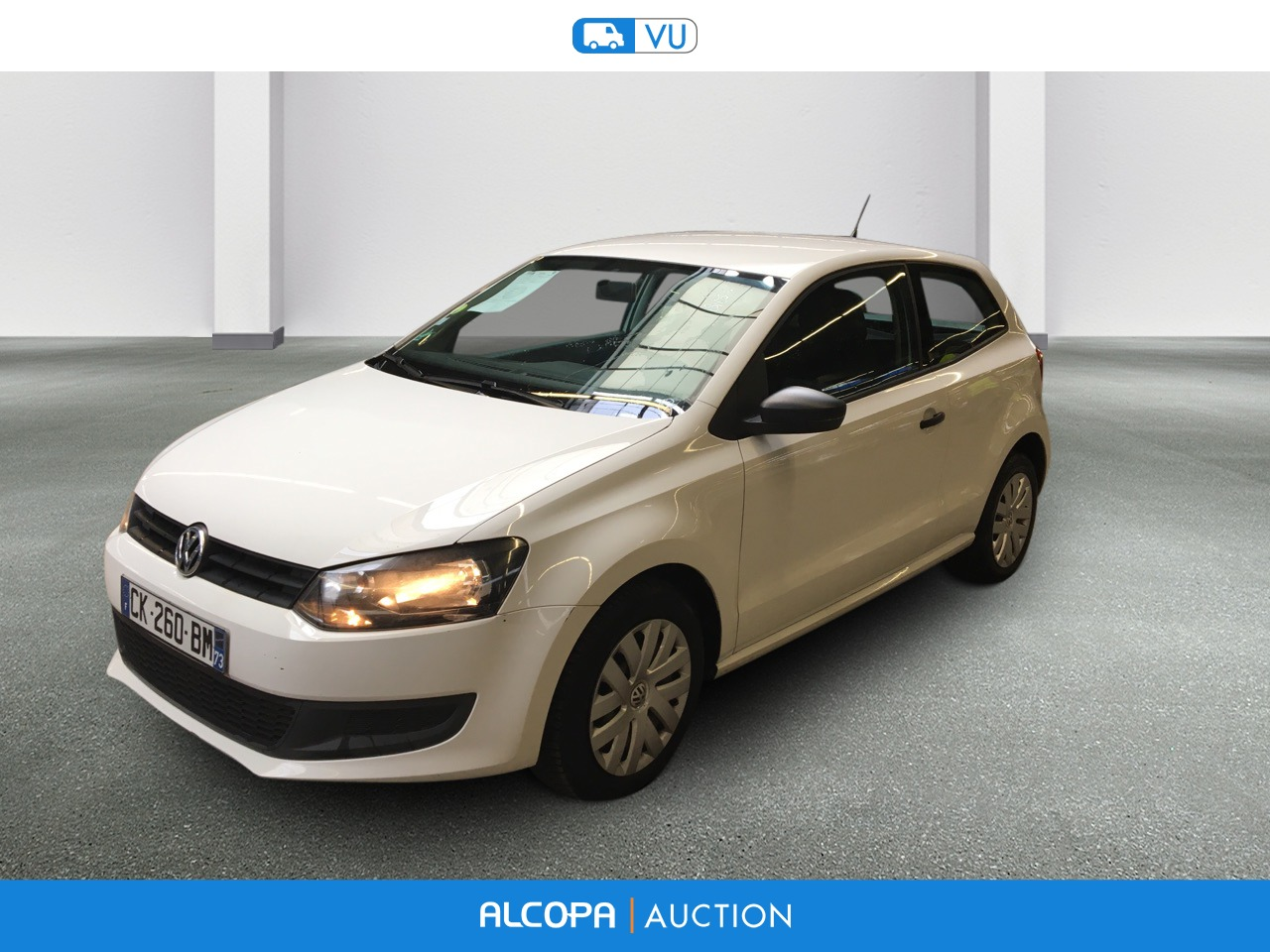 volkswagen polo polo 1 6 tdi 90 cr fap trendline alcopa auction. Black Bedroom Furniture Sets. Home Design Ideas