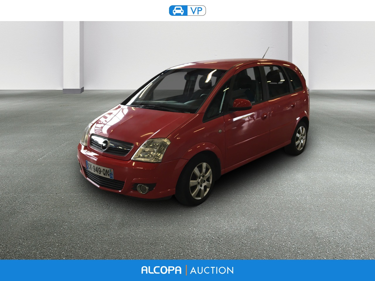 opel meriva meriva 1 7 cdti 100 cosmo alcopa auction. Black Bedroom Furniture Sets. Home Design Ideas
