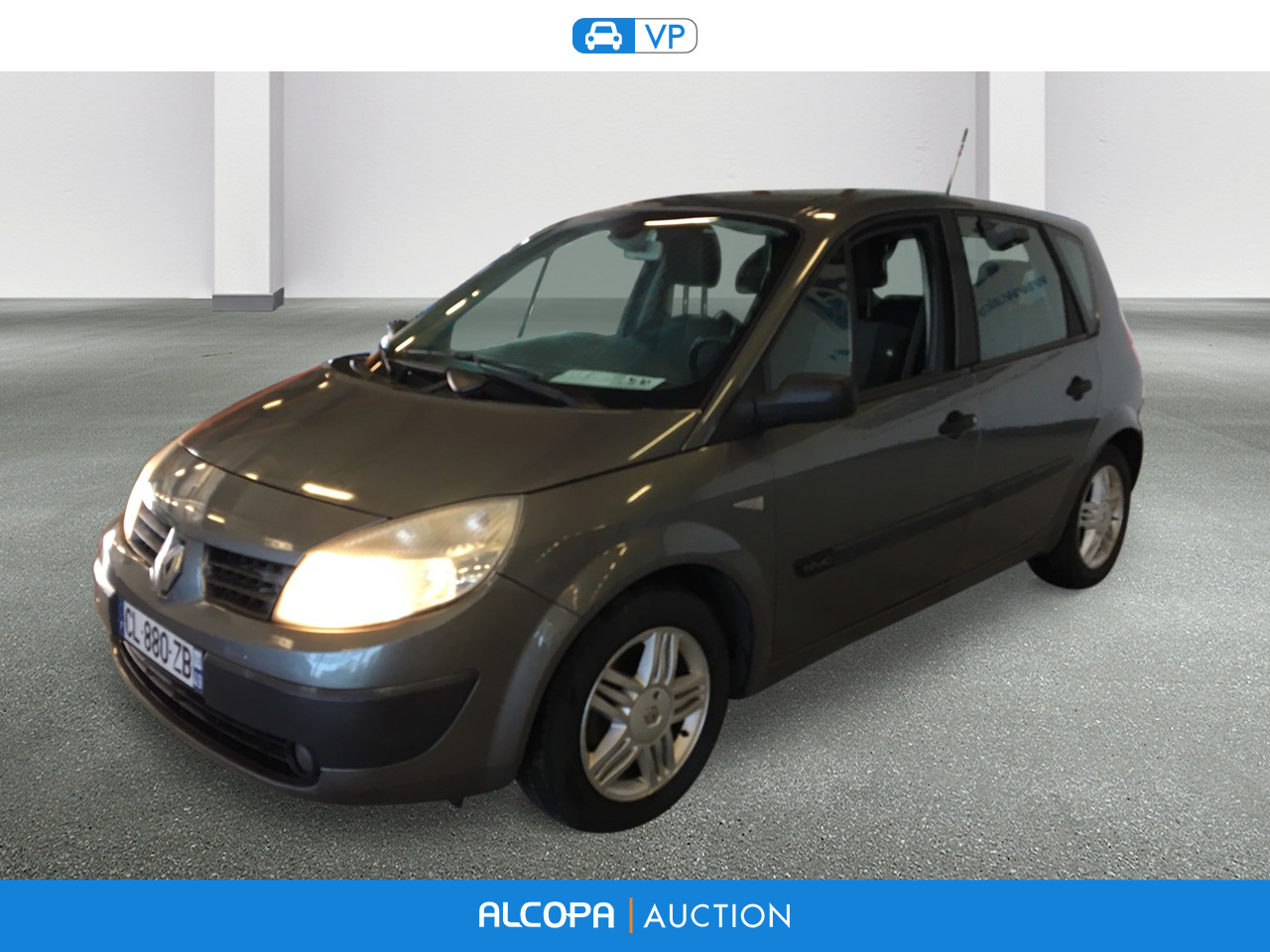 renault scenic scenic 1 9 dci 130 alcopa auction. Black Bedroom Furniture Sets. Home Design Ideas