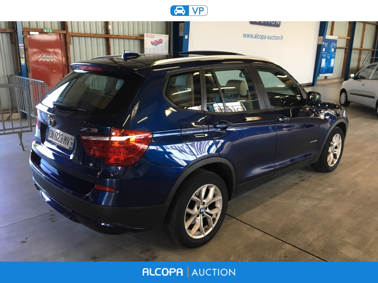 bmw x3 x3 xdrive35d 313ch exclusive steptronic a rennes alcopa auction. Black Bedroom Furniture Sets. Home Design Ideas