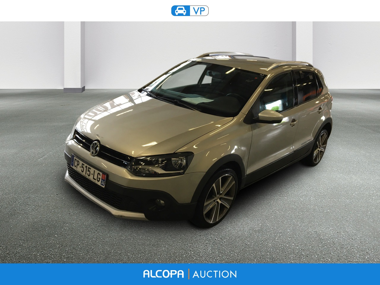 volkswagen polo polo 1 6 tdi 90 cr fap cross polo alcopa auction. Black Bedroom Furniture Sets. Home Design Ideas