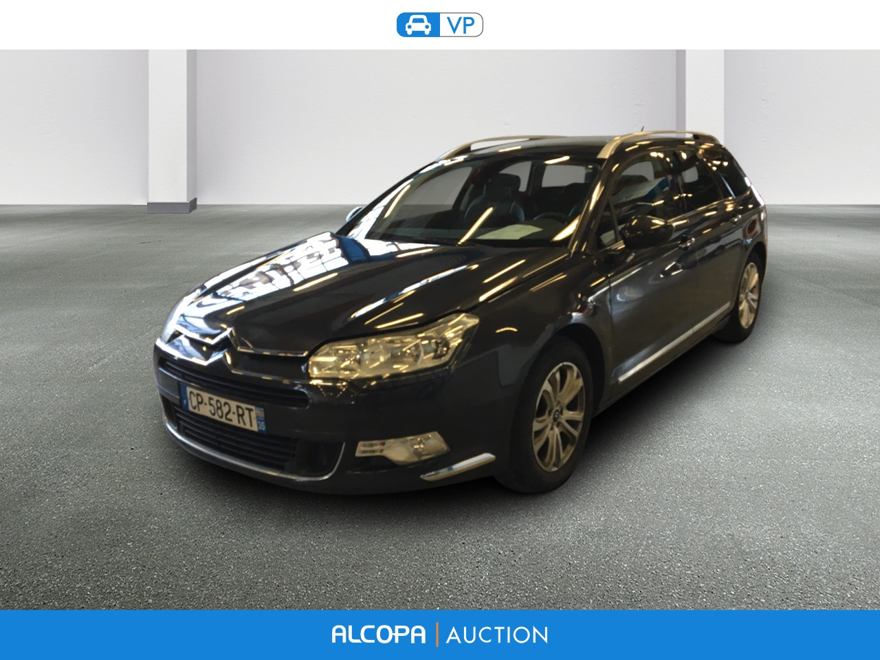 citroen c5 tourer c5 tourer hdi 160 exclusive a alcopa auction. Black Bedroom Furniture Sets. Home Design Ideas