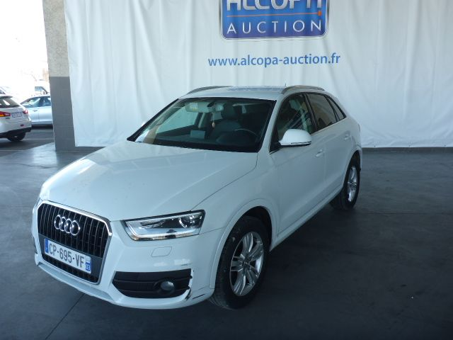 audi q3 06 2011 11 2014 q3 2 0 tdi 140 ch ambition luxe alcopa auction. Black Bedroom Furniture Sets. Home Design Ideas