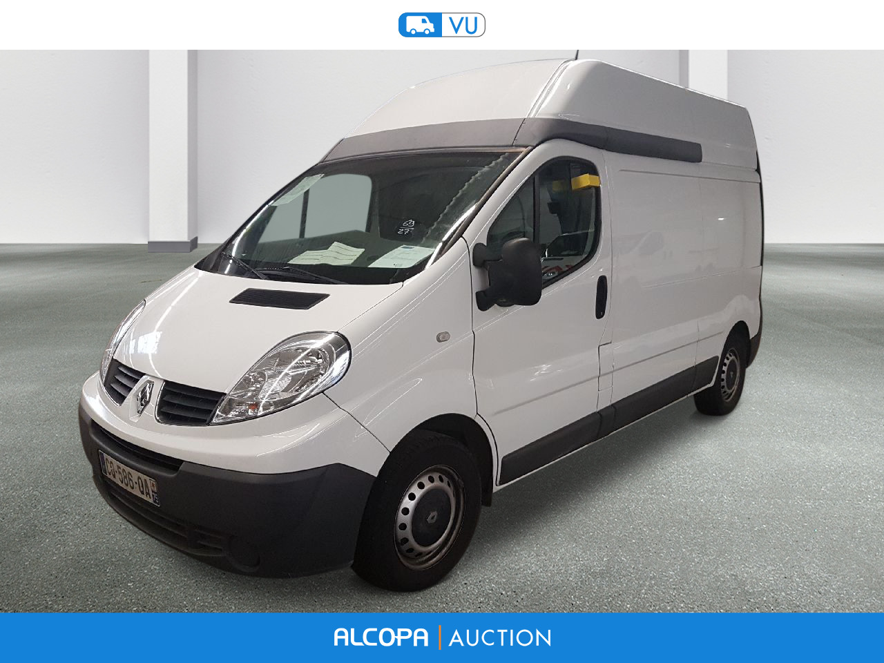 renault trafic trafic fg l2h2 1200kg dci 90 confort beauvais alcopa auction. Black Bedroom Furniture Sets. Home Design Ideas