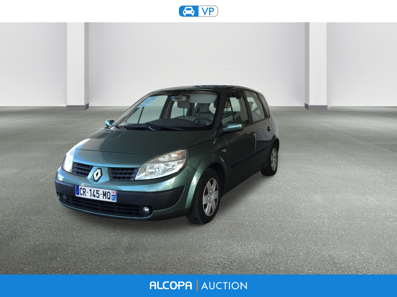 renault scenic 1 6 16v confort expression alcopa auction. Black Bedroom Furniture Sets. Home Design Ideas