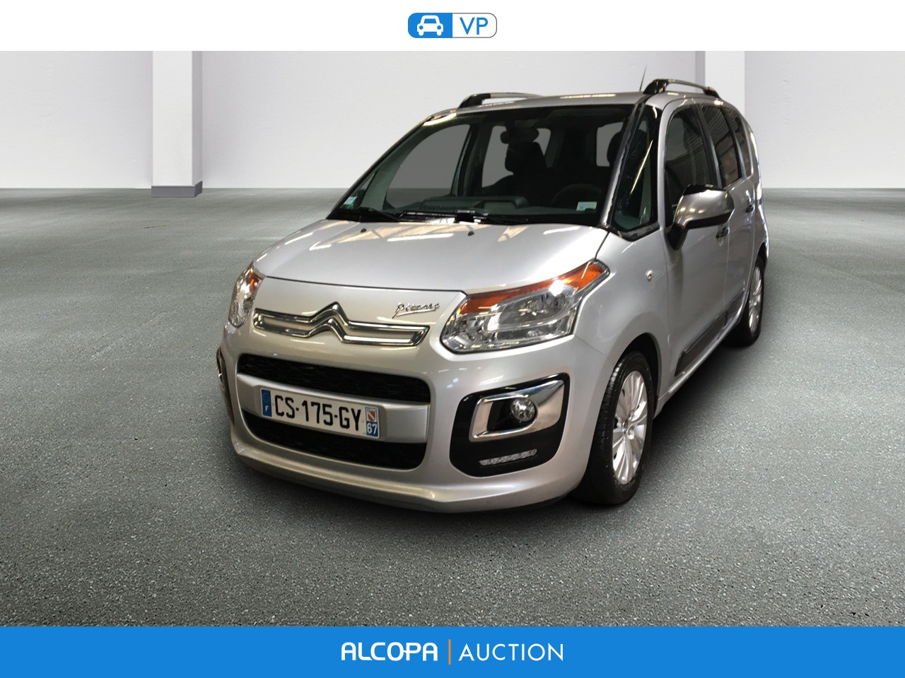 citroen c3 picasso c3 picasso hdi 90 collection alcopa auction. Black Bedroom Furniture Sets. Home Design Ideas