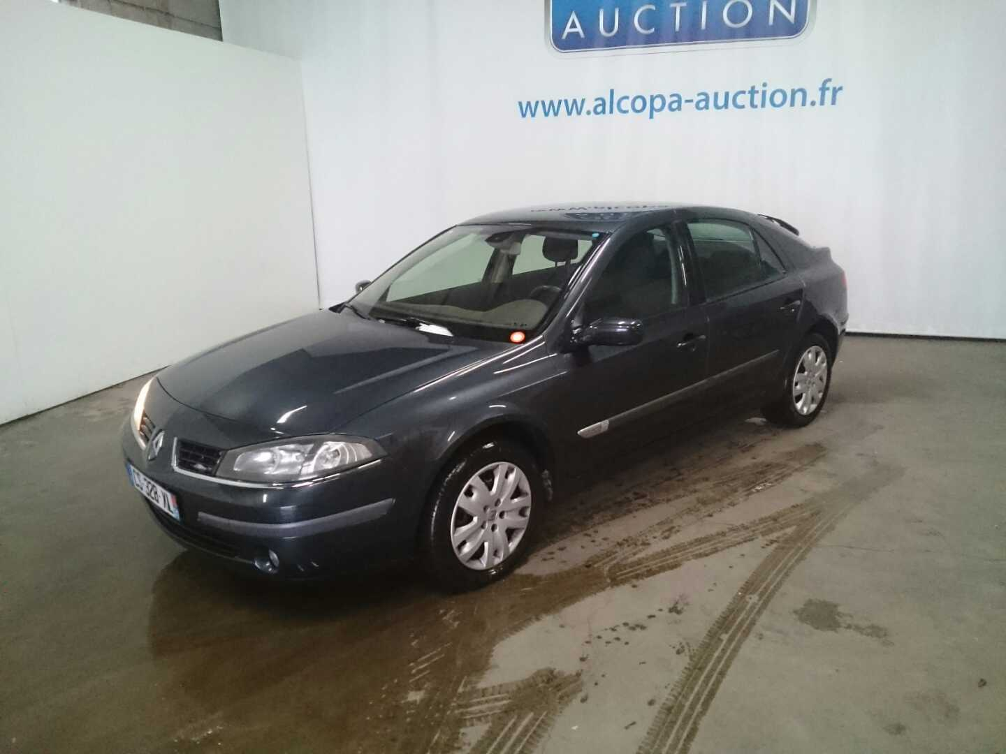 renault laguna 02 2005 09 2007 laguna 1 9 dci 110 fap expression alcopa auction. Black Bedroom Furniture Sets. Home Design Ideas