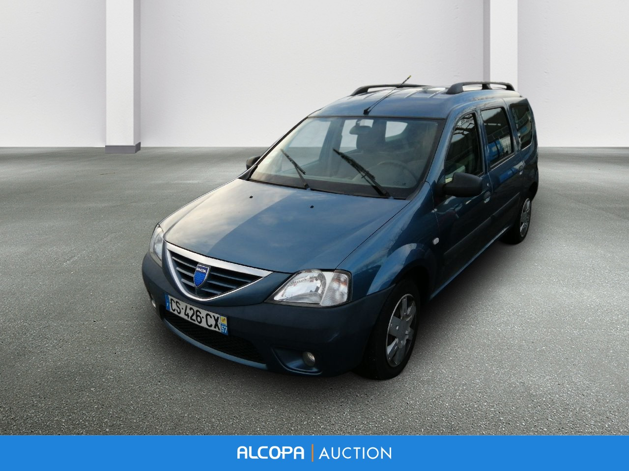dacia logan mcv logan mcv 1 5 dci 70 7 places ambiance alcopa auction. Black Bedroom Furniture Sets. Home Design Ideas