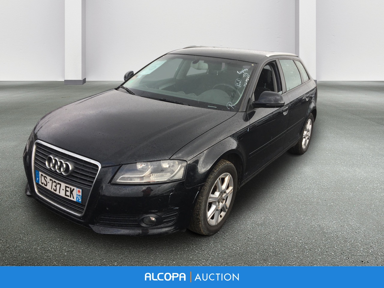 audi a3 sportback a3 sportback 1 9 tdi 105 ambiente alcopa auction. Black Bedroom Furniture Sets. Home Design Ideas