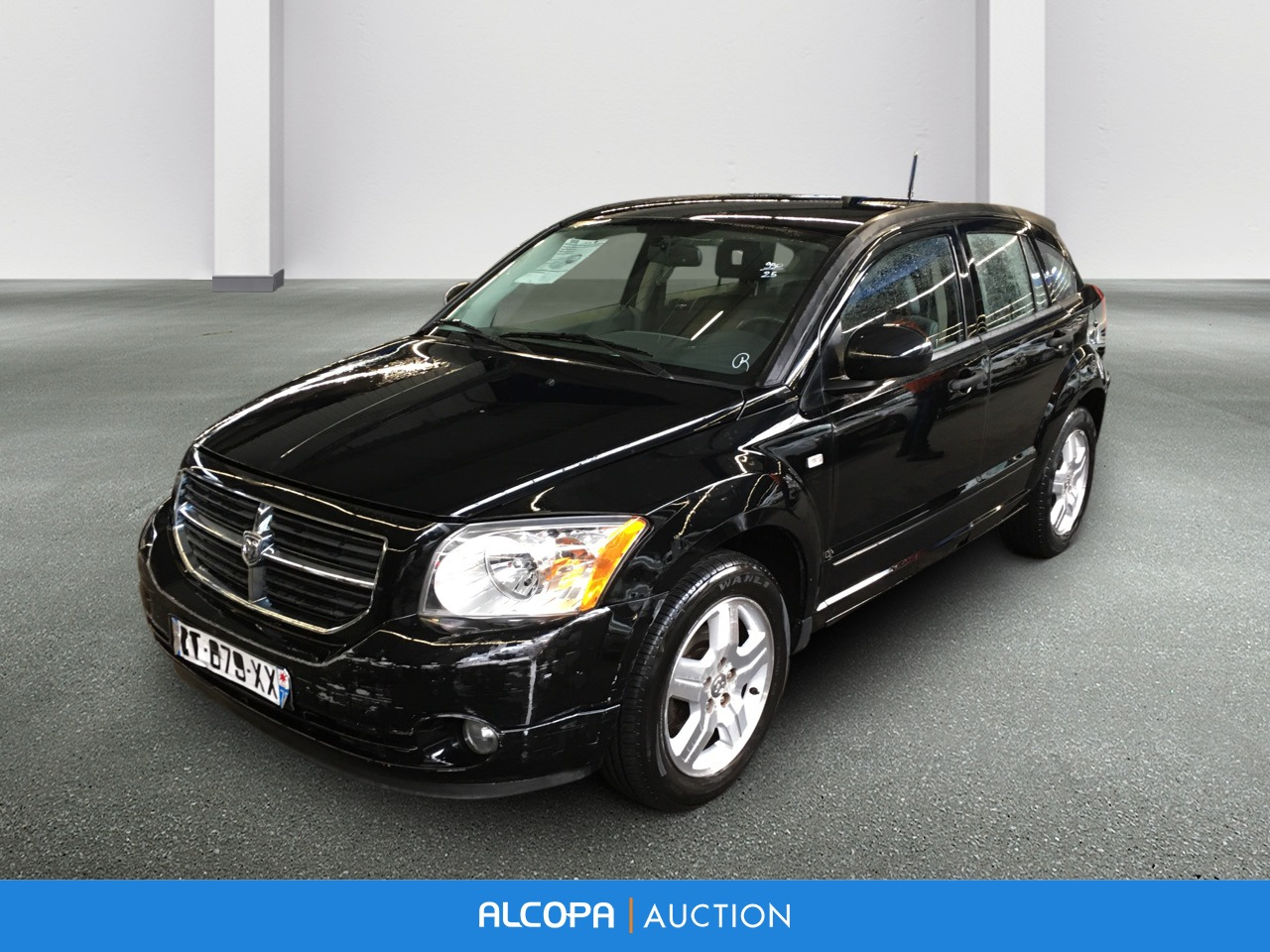dodge caliber caliber 2 0 crd sxt alcopa auction. Black Bedroom Furniture Sets. Home Design Ideas