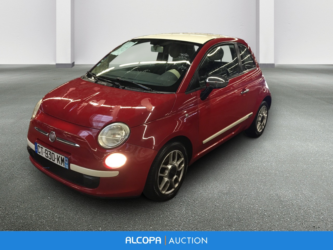 fiat 500 500 1 2 8v 69 ch 500 alcopa auction. Black Bedroom Furniture Sets. Home Design Ideas
