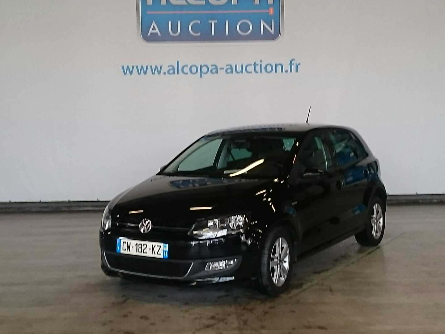 volkswagen polo polo 1 6 tdi 90 cr fap match alcopa auction. Black Bedroom Furniture Sets. Home Design Ideas