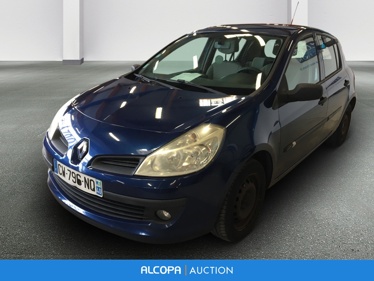 renault clio iii clio 1 5 dci 70 confort expression alcopa auction. Black Bedroom Furniture Sets. Home Design Ideas