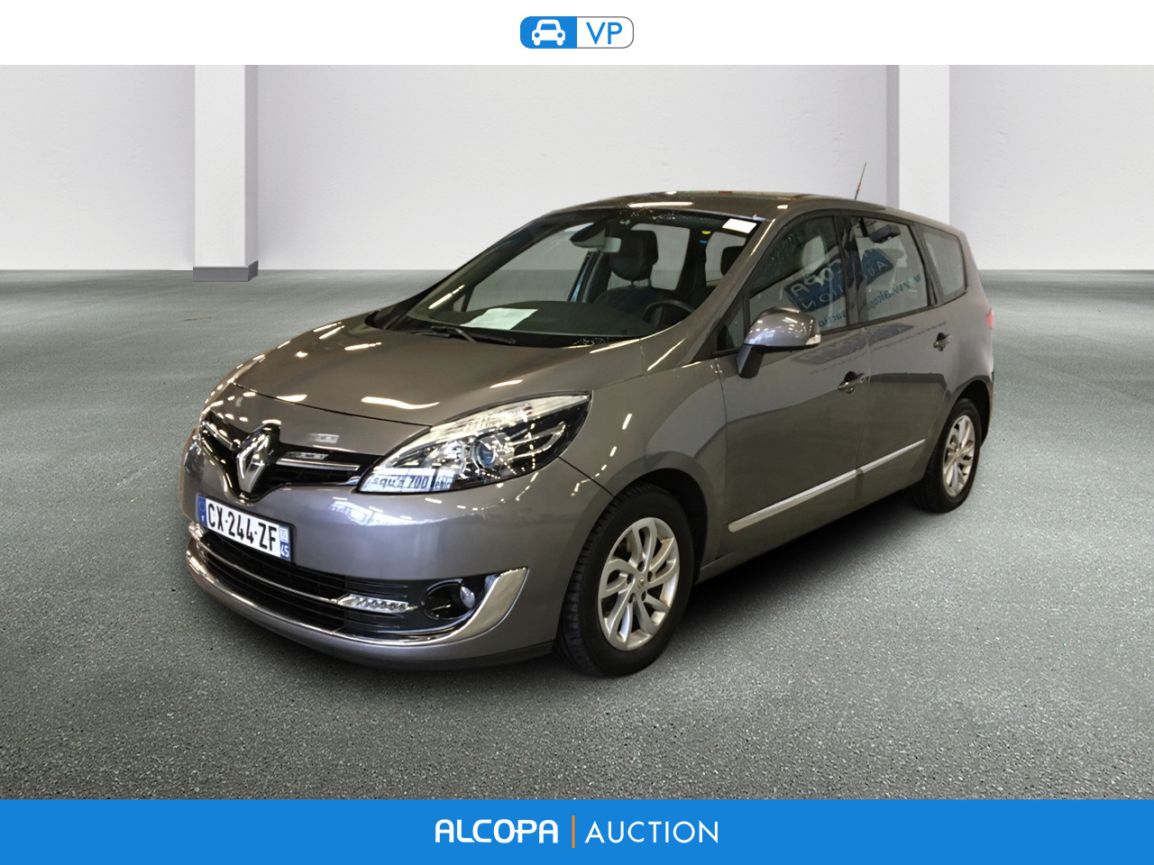 renault scenic scenic dci 130 energy bose eco rennes alcopa auction. Black Bedroom Furniture Sets. Home Design Ideas