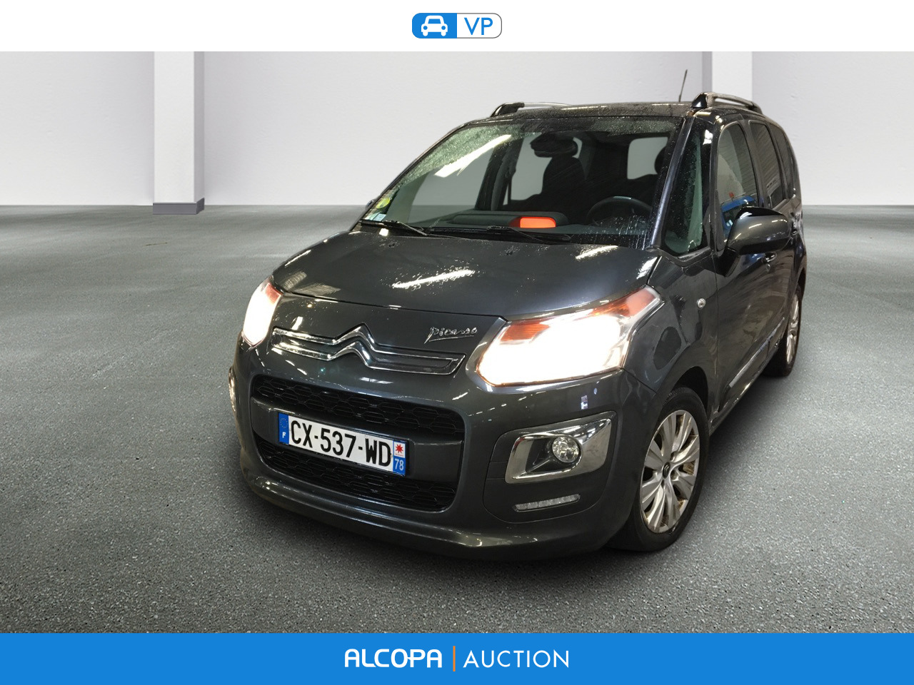 citroen c3 picasso 01 2013 07 2017 c3 picasso e hdi 90 exclusive bmp6 alcopa auction. Black Bedroom Furniture Sets. Home Design Ideas