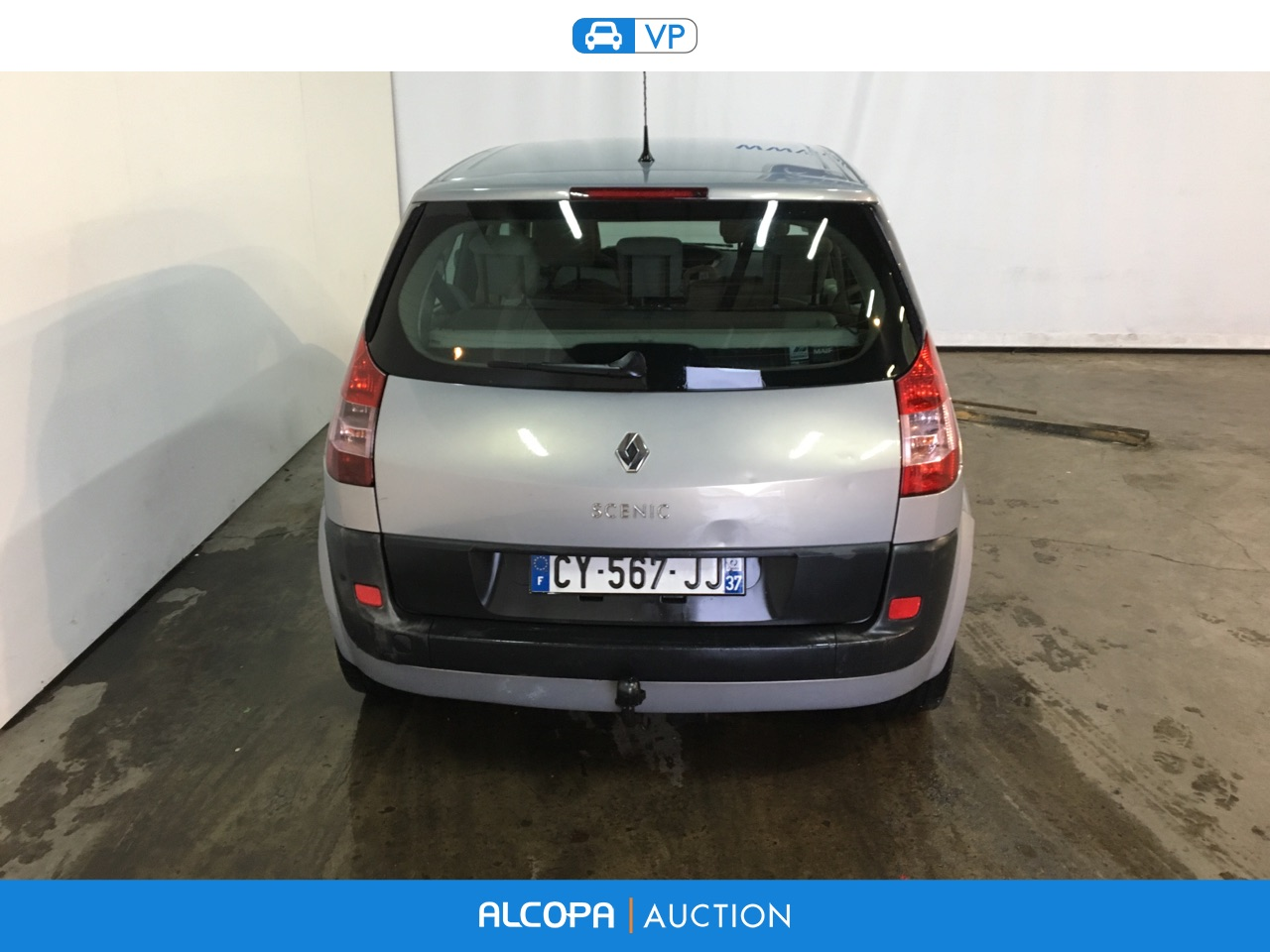 renault scenic scenic ii 1 9 dci 120 confort expression tours alcopa auction. Black Bedroom Furniture Sets. Home Design Ideas